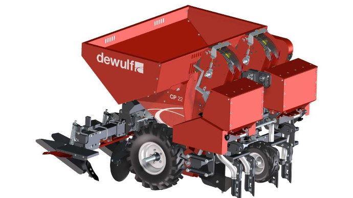 Dewulf CP 22 Farmer la planteuse portée à deux rangs pour les petites structures