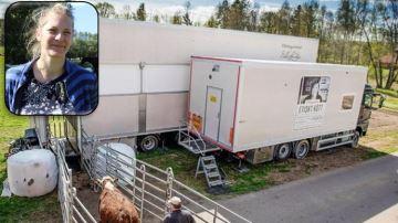 Émilie Jeannin: «Le transport et l'abattagegâchent le travail de l'éleveur»