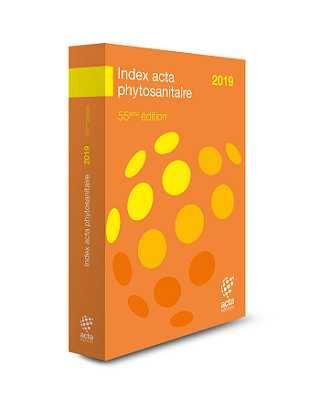 Index Acta phytosanitaire 2019