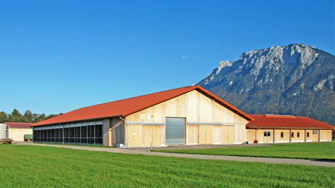 Bâtiment agricole et architecture