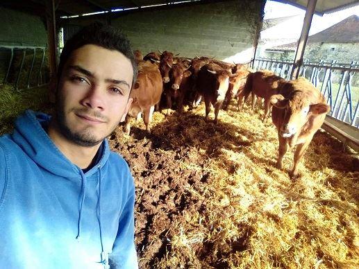 Clément, 17 ans est prêt à se battre pour l'agriculture