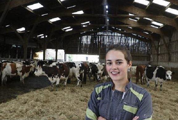 Perrine veut «représenter le monde agricole féminin»