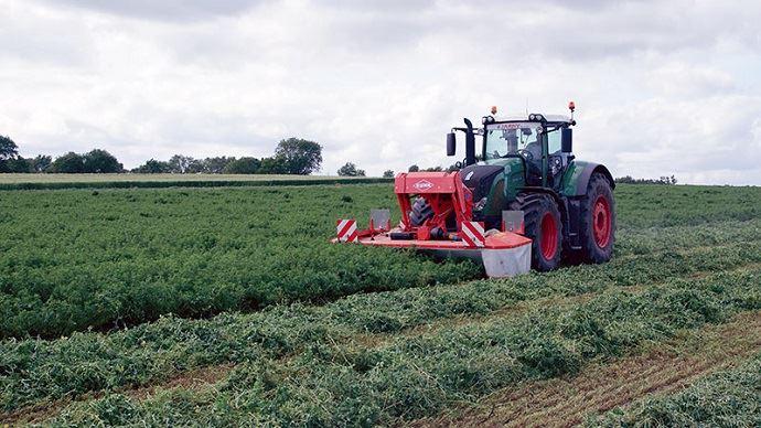 La luzerne permet d'augmenter l'autonomie alimentaire d'un élevage en replaçant une partie du maïs et des concentrés achetés.