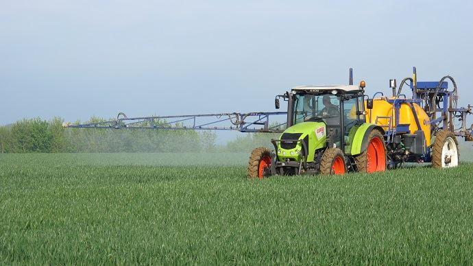 Traitement fongicide sur blé