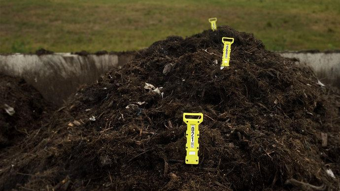 Les sondes Quanturi envahissent maintenant les chantier compost