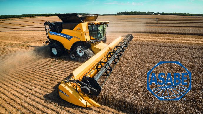New Holland primé par l'ASABE