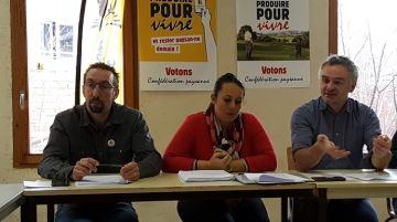 La Confédération paysanne dépose un dossier au Parquet national financier