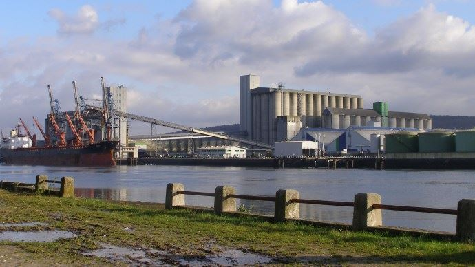 Selon les dernières estimations de Franceagrimer, la France pourrait exporter 7,7 Mt de blé vers ses voisins européens, dont les trois quart vers la Belgique et les Pays-Bas.