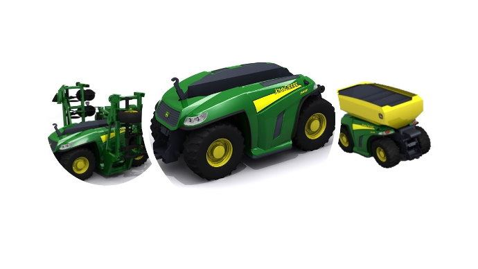 John Deere MP150, l'un des projets de John Deere dans la robotique agricole