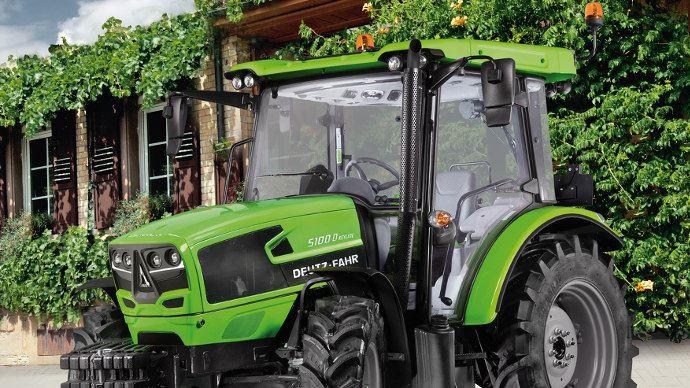 Le 5D keyline, un petit tracteur d'entrée de gamme chez Deutz-Fahr