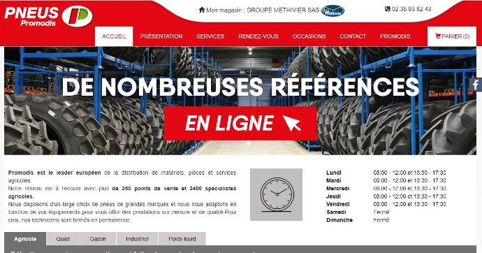 Promodis se lance dans le e-commerce des pneumatiques