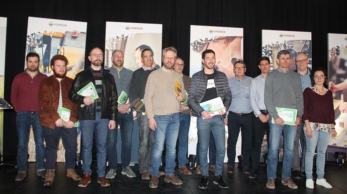Les vainqueurs de la 2e édition du concours