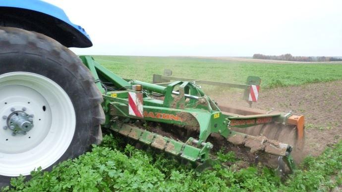 Arvalis institut du végétal rappelle qu'au-delà du 15 mars, un couvert encore en place risque de pénaliser le maïs qui suit.