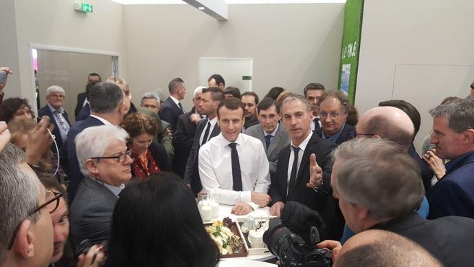 Emmanuel Macron inaugure le Salon de l'agriculture 2019