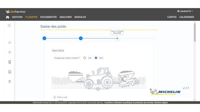 La plateforme 365 FarmNet s'étoffe avec le module AgroPressure by Michelin.