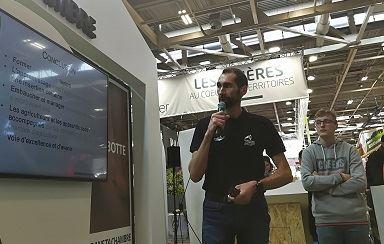 fabrice cossart chambre agriculture pas de calais fait la promotion del apprentissage au salon del agriculture 2019