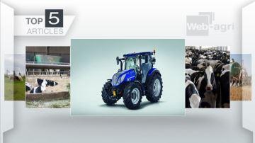 New Holland T5 et concentration des fermes laitières sur le devant de l'actu
