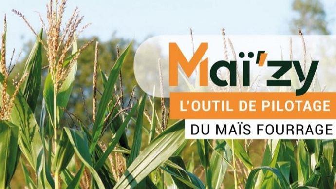 Maï'zy est un outil de monitoring du maïs fourrage. Il croise les données météos aux critères de l'éleveur et l'accompagne dans le pilotage de la culture.