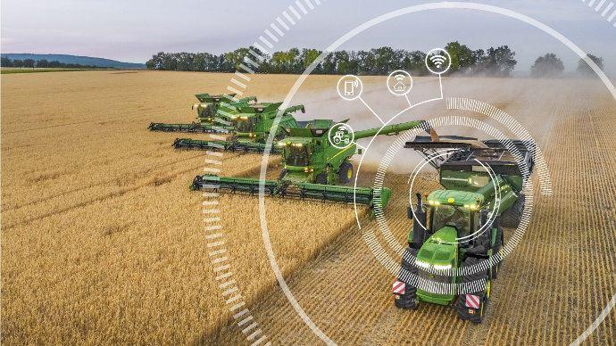 La connectivité est une nouvelle révolution pour l'agriculture. Quels usages John Deere fait de cette technologie émergente.