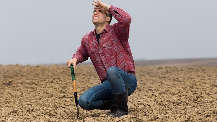Les sols européens s'assèchent progressivement