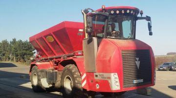 Holmer Terra Variant 585 désormais disponible avec un épandeur Bredal