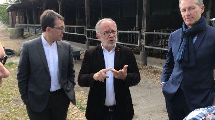 Eric Andrieu, eurodéputé SD sortant et candidat sur la liste d'alliance PS-Place publique aux élections européennes du 26 mai 2019.