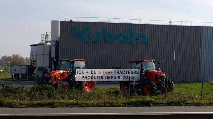 Déjà 5000 tracteurs produits en France dans l'usine de Biern dans le Nord (59)