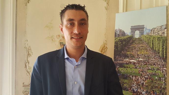 Samuel vandaele, auparavant secrétaire général de Jeunes agriculteurs, a remplacé Jérémy Decerle à la présidence du syndicat.