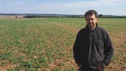 Jean-Hilaire Renaudat, agriculteur dans l'Indre