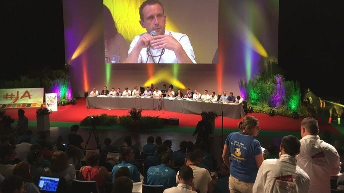 Les JA ont débattu, comme chaque année, d'un rapport d'orientation - sur la ruralité pour 2019 -  lors de leur congrès annuel, du 4 au 6 juin à Roanne, dans la Loire.