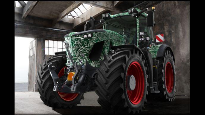 Nouveau tracteur Fendt série 900