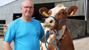 Rémi Briant, éleveur (29) : «La Pie Rouge: entre Holstein et Normande»