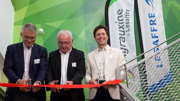 Inauguration des nouveaux locaux d'Agrauxine