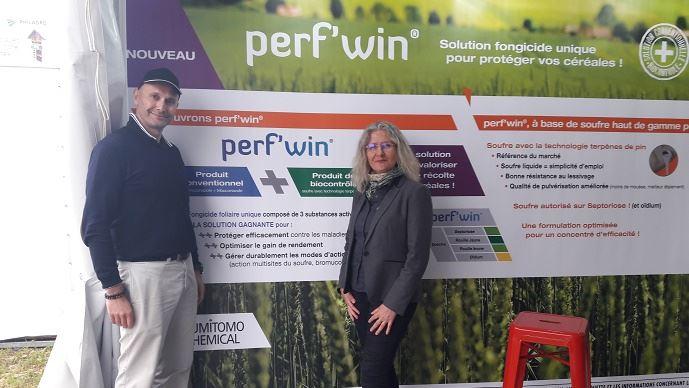Collaboration entre Philagro et Action Pin, avec Frédéric Grimault, directeur marketing et développement de marchés et Sophie Coquin, responsable commerciale France gamme agricole?