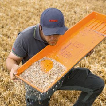 349,8t de blé en 8 h: le record établi par la Lexion nouvellegénération!