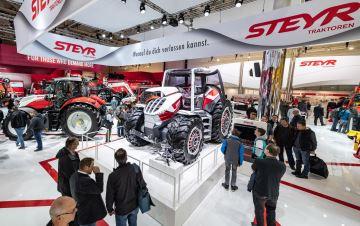 Le Steyr Konzept souhaite devenir le tracteur de demain!