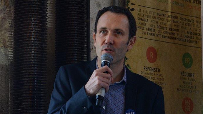 Ludovic Brindejonc, directeur général d'Agri-Ethique, lors des rencontres organisées par le label le 21 novembre