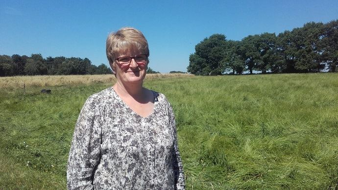 Françoise Faucheux est éleveuse laitière bio dans le Morbihan.