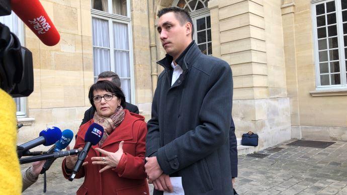 A l'issue de leur rendez-vous, Christiane Lambert et Samuel Vandaele estiment avoir été écoutés par le Premier ministre