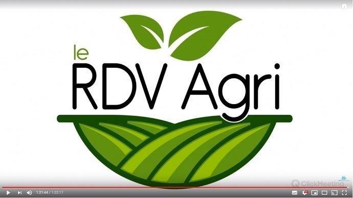 21e RDV agri de Thierry agriculteur d'aujourd'hui, rétrospective de l'année culturale 2019