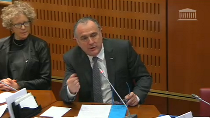 Didier Guillaume devant la mission parlementaire de