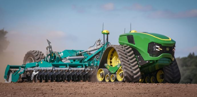 John Deere sort son Joker