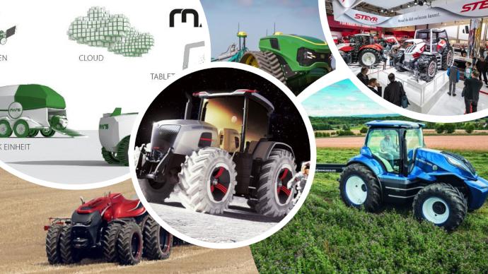 Les concepts de tracteurs du futur