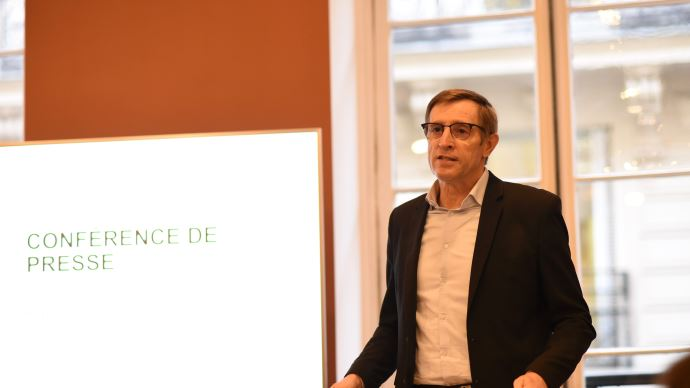 Dominique Chargé, président de la Coopération agricole, dresse le bilan de 2019 et évoque les objectifs de l'organisation