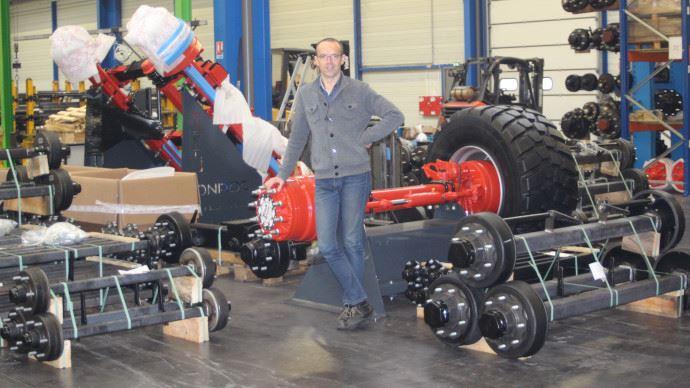 Olivier Croix, président de Monroc, fabricant d'essieux