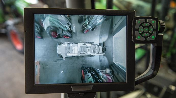 Caméra 360° proposée chez Fendt