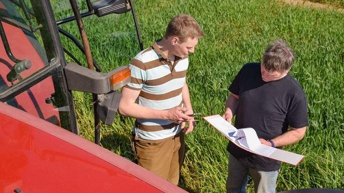 Agriculteur et conseiller
