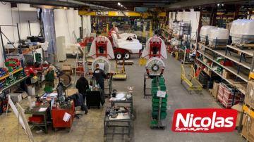 Nicolas Sprayers: la marque premium d'Exel Industries