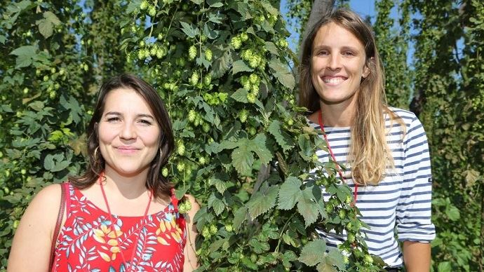 Fanny Madrid et Lucie Le bouteiller