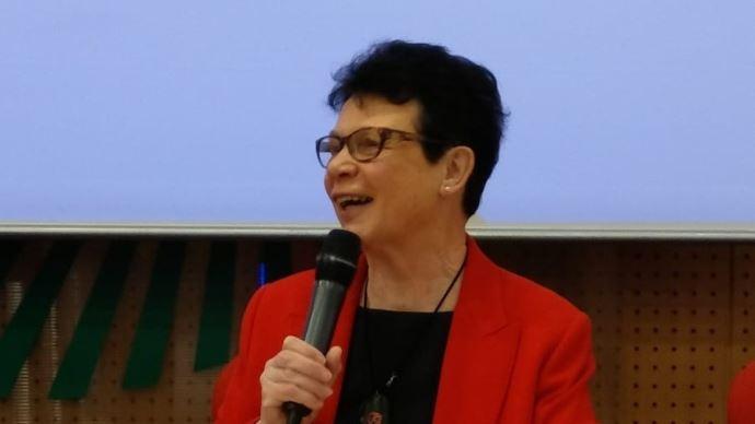 Josiane Béliard, présidente de la SNPR, le 13 mars